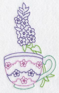 Embroidery Stitches Designs Machine Embroidery Designs at Embroidery Library! - New This Week Towel Embroidery, Machine Embroidery Patterns, Silk Ribbon Embroidery, Vintage Embroidery, Embroidery Applique, Cross Stitch Embroidery, Machine Applique, Brazilian Embroidery, Embroidery Techniques