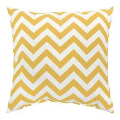 Zags Yellow Outdoor Accent Pillows (Set of Two) | Overstock.com
