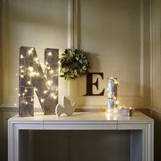 décoration de Noël belles lumières pour le salon