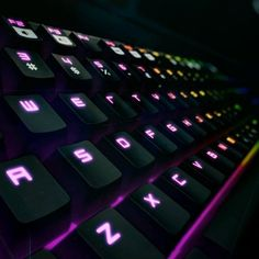 Typing at night or under dim lighting conditions won't be much of a difficulty if you use the Razer BlackWidow Chroma RGB Gaming Keyboard.