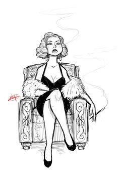 Girl A Day 3 by LuigiL.deviantart.com on @deviantART