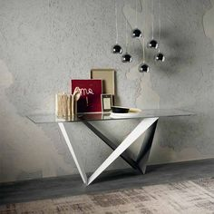 Amazing glass console table, perfect for modern rooms. Discover more: modernconsoletables.net | #glassconsoletable #entrytables #modernconsoletables