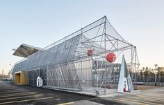 A Scaffolding System for a Temporary Facility / Peris+Toral.arquitectes
