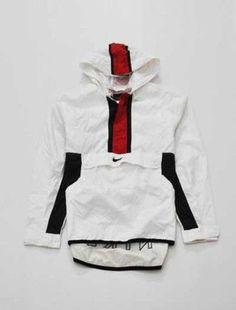 menswear mens jacket mens sportswear coat mens windbreaker nike red white…