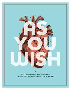 Amy McAdams The Princess Bride - As You Wish Mini Poster