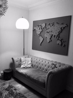 mapa del mundo en el arte de la cadena mapa del mundo de arte
