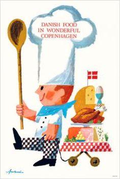 Danish food in wonderful Copenhagen - (Ib Antoni) -