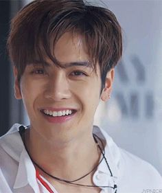 Jackson Wang and his legendary lady killer smile.