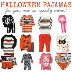 Halloween Pajama Round-Up - for Babes + Toddlers!