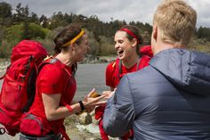 Amazing Race Canada (S2) - Nat & Meaghan - Women's Gold Medal winning hockey team!