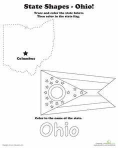Ohio Wordsearch, Crossword Puzzle, Vocabulary, and More