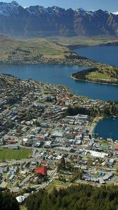 Queenstown, adventure capital of New Zealand