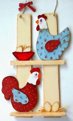 Как сделать поделку, игрушку сувенир Петуха из дерева своими руками?