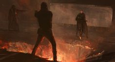 scifi-fantasy-horror: The Dark Tower by Alexander Mandradjiev The Dark Tower Series, Sci Fi Fantasy, Sci Fi Art, Digital Illustration, The Darkest, Scene, Sky, Painting, Howard Stern