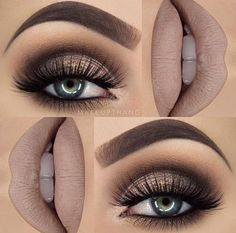 Mauve makeup look which is perfect for the Christmas holidays. #eyemakeup #mauve #Christmas