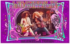 Bob Masse's 70's rock and roll art and concert posters