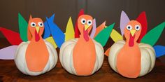 Kidoodles: Thanksgiving Turkeys For the Table