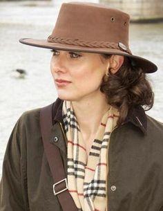 66de61cc91288 How do Barmah and Wombat Leather bush hats compare