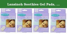 Lansinoh Soothies Gel Pads, 2 Count (Pack of 4 (8 Count)). Product Features: Cooling relief to help heal sore nipples Fabric backing protects nipples from friction #1 selling gel pad for breastfeeding moms Reusable - includes a storage tray to keep clean between uses Can be used for up to 72 hours Vegan Product Details: Contains 2 Gel Pads Unit Dimension: L 3.75. x W 0.75 x H 7.00 Product of USA BPA and BPS free.