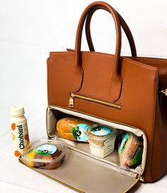Hand Made Camel Vegan Leather/Gold coated High fashion Meal prep Tote - work travel Fashion Bags, Fashion Backpack, High Fashion, Fashion Handbags, Prep Fashion, Stylish Handbags, Gold Fashion, Fashion Fashion, Runway Fashion