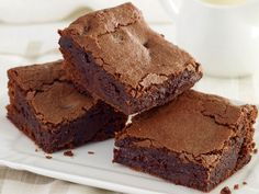 Für diese Brownies braucht ihr nur zwei Zutaten