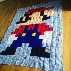 Mario Blanket Crochet Pattern Free : 1000+ images about Crochet - Pixel Blankets on Pinterest ...