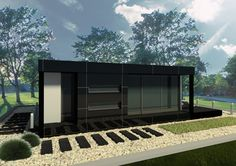 case modulare modular houses 12 Garage Doors, Houses, Outdoor Decor, Home Decor, Homes, Decoration Home, Room Decor, House, Home