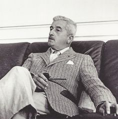 William Faulkner, années 1950, collection Harlingue William Faulkner, Cuthbert, Writers Write, Old Pictures, Mississippi, My Best Friend, The Man, My Books, Suit Jacket