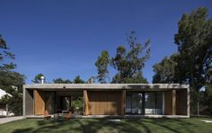 the natural landscape emerges in contrast with the geometry of the construction, and masa arquitectos\' \'marindia house\' seems to be more cozy and protective within a rough environment.