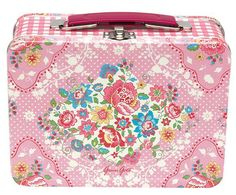 GreenGate Lunchbox Maggie Pink - Michaelsen - Scandinavian Living