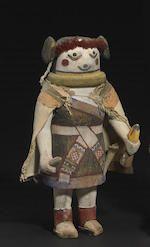 Bonhams : A Hopi kachina doll