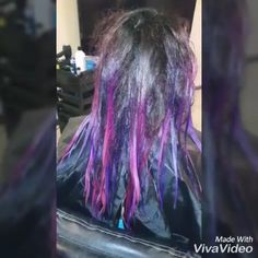 Art! ❣���� #unicornhair #berrylicious #berry #pravana #pinkandpurplehair #pinkombre #fullcolorcorrection #bayalage #ombre #colorcorrection #colorista #haireducation #hairstyles #redtoblonde #hairbestie #foils #hairstylist  #haircolor #cosmetology #cosmetologist #cosmetologistlife #longhairdontcare #balayageombre #newhair #instabeauty #instahair http://tipsrazzi.com/ipost/1524937447837704139/?code=BUpqoeDDp_L
