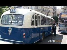 Παλιό λεωφορείο στη σύγχρονη Αθήνα Past Tense, Athens Greece, Documentary, Old Photos, Childhood Memories, Centre, Nostalgia, Greek, Nature