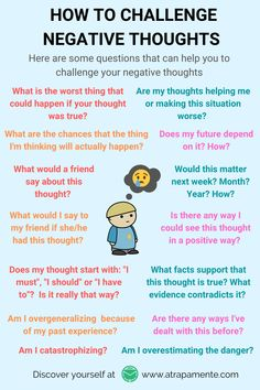 Mental Health Therapy, Mental And Emotional Health, Social Emotional Learning, Cbt Therapy, Therapy Worksheets, Cognitive Behavioral Therapy, Cognitive Distortions, Negative Thoughts, Negative Thinking