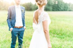 Wedding Dress. #lace #bow