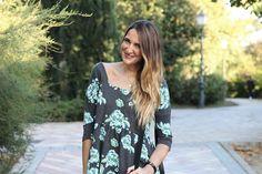 ASOS DRESS FLOWER