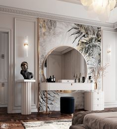Дамский столик в спальне Master Bedroom Interior, Luxury Bedroom Design, Home Room Design, Dream Home Design, Home Decor Bedroom, Luxury Interior, Modern Bedroom, Home Interior Design, Bedroom Classic