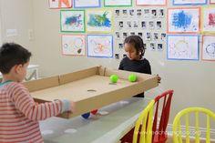 DIY Box Game for Preschool and Prek