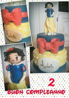 Cake Biancaneve