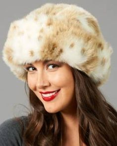 f138f31654a 2013 Premium Sable Faux Fur Hat for girls . Womens Faux Fur Trapper  fur
