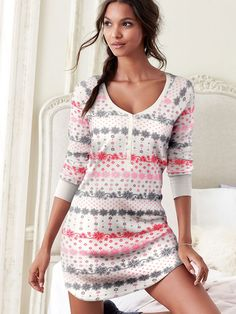 The Fireside Sleepshirt from Victoria's Secret, $30.50 in S