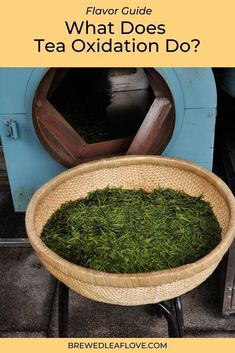 What is tea oxidation? How does it happen and how does it affect the flavor of tea? Tea Benefits, How To Make Tea, Tea Recipes, Teas, Drinking Tea, Brewing, Tea Cups, Canning, Healthy