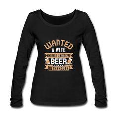 Geschenke Shop | Bier spruch - Frauen Bio-Langarmshirt von Stanley & Stella Arm, Sweatshirts, Sweaters, Fashion, Beer Keg, Women's T Shirts, Oktoberfest, Long Sleeve, Moda
