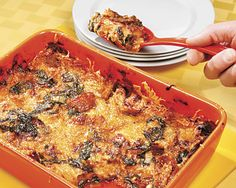 Cheesy Swiss Chard Bake - Recipes at Penzeys Spices I'm going to experiment with making this gluten free.