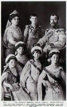 Anastasia's (real) family