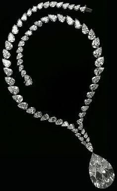 Taylor Burton Diamond necklace
