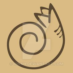stylized Sandworm of Dune by i0nah