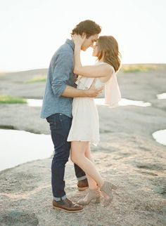 Stunning engagement photos in Texas Hill Country via Magnolia Rouge