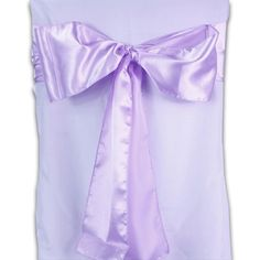 Lavender #Satin Chair #Sash 10 Pieces http://www.tulleshop.com/Lavender-Satin-Chair-Sash-p/xb33830.htm