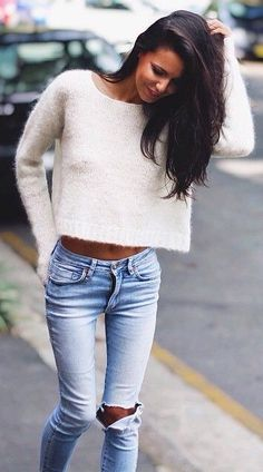 Love crop knits